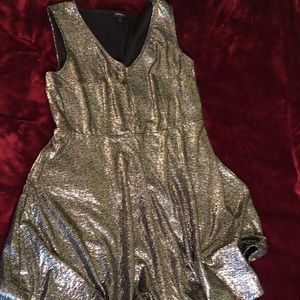 torrid Dresses - Gold shimmer dress